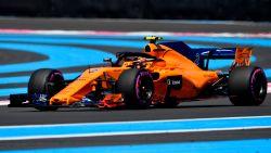 Lewis Hamilton ook snelste in tweede vrije oefenritten in Frankrijk, Vandoorne dertiende