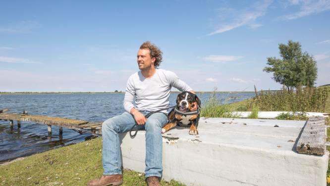 Buitendijks gelegen vakantiehuisjes van boer Bastiaan sneuvelen in toekomstplan Veerse Meer