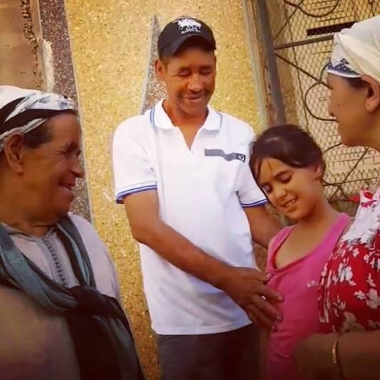 Het was een schok voor de familie om Abdelkaderterug te zien.