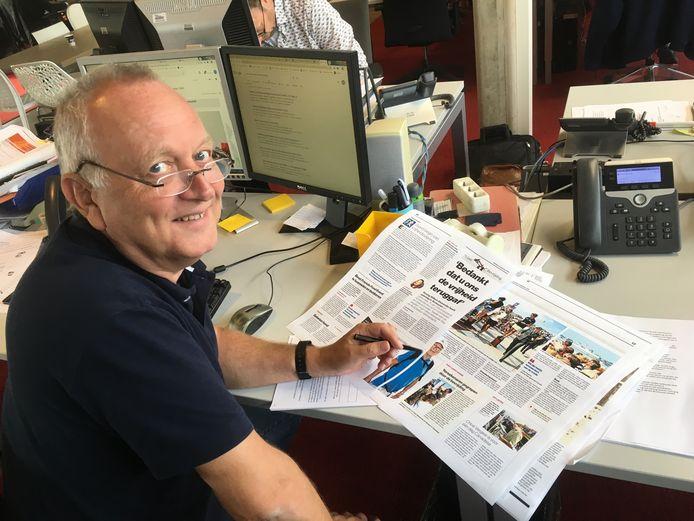 Chef Nieuwsdienst Ab van der Sluis