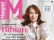 Bibian Mentel straalt op cover Margriet: 'Kans dat ik hem zelf niet meer kan lezen'