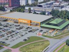 Bouw Hornbach Enschede heeft na half jaar hoogste punt bereikt