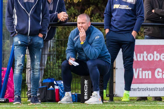 Thijs Houwing: coach van zondagvierdeklasser SV Almelo.