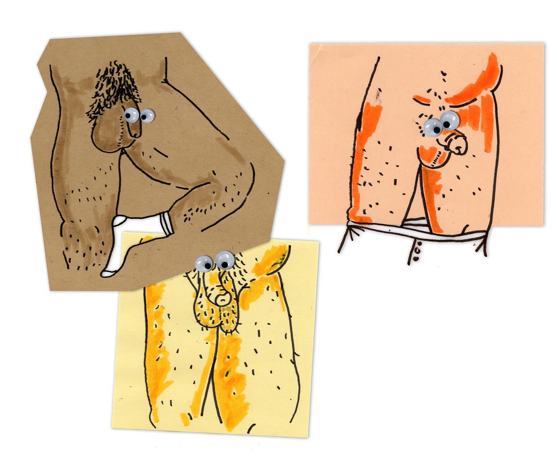 Fragiele, mannelijke foetussen hebben vanaf zestien weken regelmatig een stijve piemel, wat goed is voor de doorbloeding.En sindsdien houdt het nooit meer op. Beeld Lotte Dijkstra