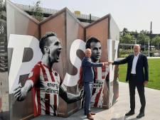Prominenten van PSV krijgen prominente plek op Eindhoven Airport