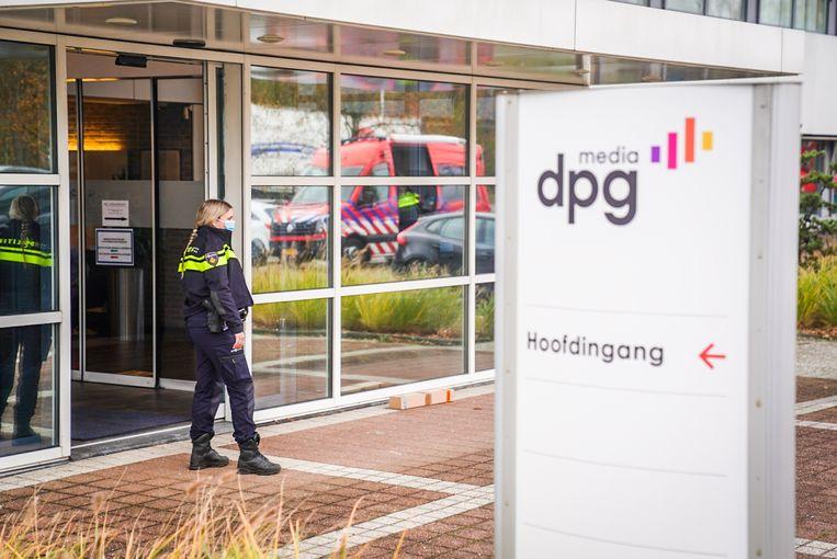 Poederbrief bij DPG Media in Best. Beeld Fotopersburo Bert Jansen/Sem van Rijssel