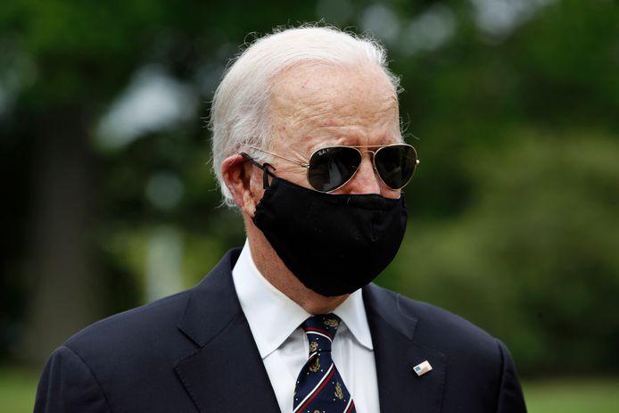 "Joe Biden lors du ""Memorial Day"""