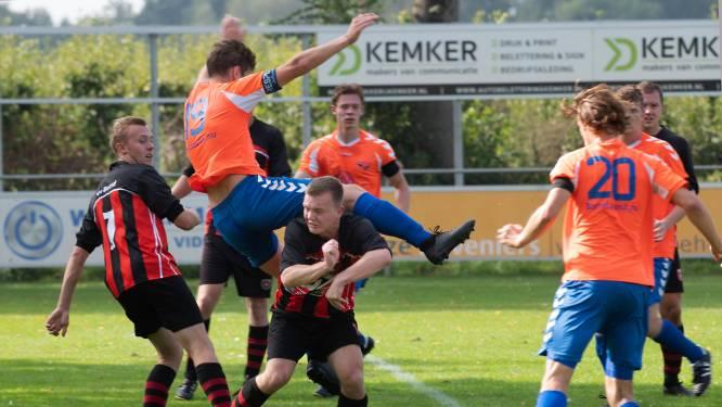 4F: Beesd is Rhelico ruim de baas in Lingederby, twee goals van Van de Water