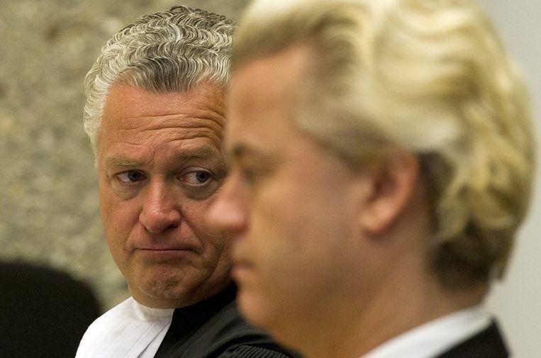 Moscowicz en Wilders. Beeld