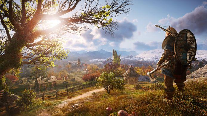 Het middeleeuwse Engeland werd op een bloedmooie manier in de gamewereld van 'Valhalla' omgezet.