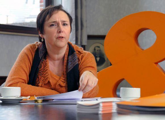 Karin Brouwers (CD&V) komt op voor de inwoners van Kessel-Lo die meer verkeer dreigen te slikken door de Bierbeekse ANPR-perimeter.