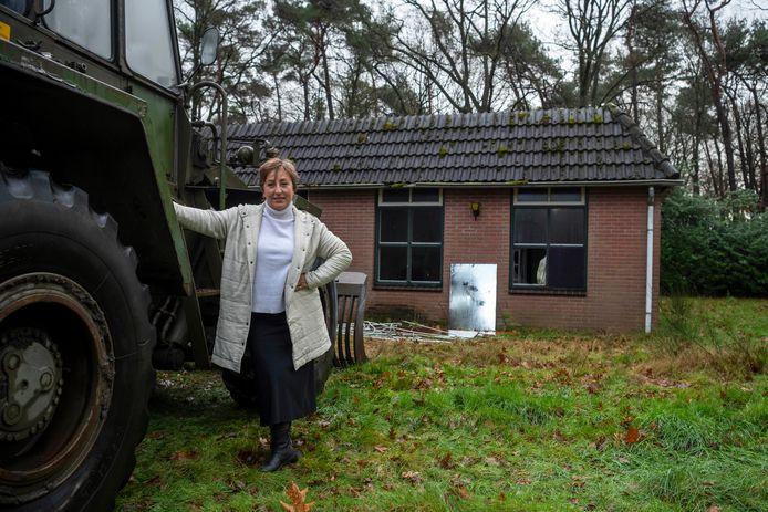Karin Bruers gaat 'horeca in atelier' realiseren op de hoek van de Vennelaan en de Gemullehoekenweg in Oisterwijk.