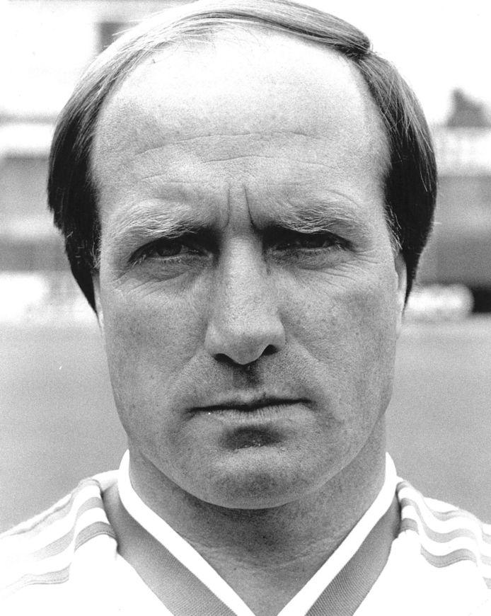 Dick Advocaat als trainer van Haarlem in 1987.