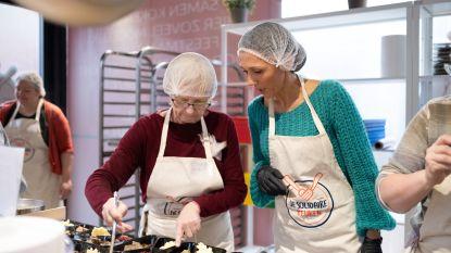 Carrefour organiseert pop-up keuken voor mensen in nood