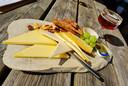 Kazen uit de abdij met een siroop van La Trappe Quadrupel en notenbrood.