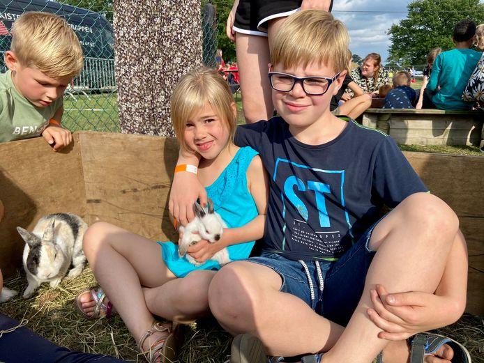 De konijnen stalen de harten van vele kinderen