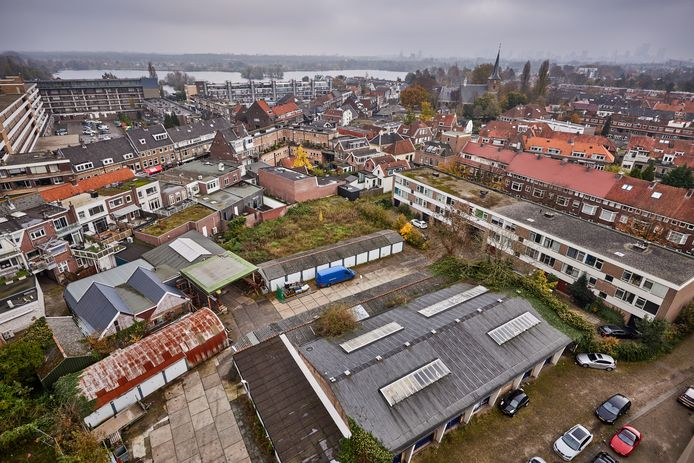 Het Hof van Cossee in de wijk Hillegersberg is een van de plekken in Rotterdam waar binnenkort nieuwe woningen verrijzen.