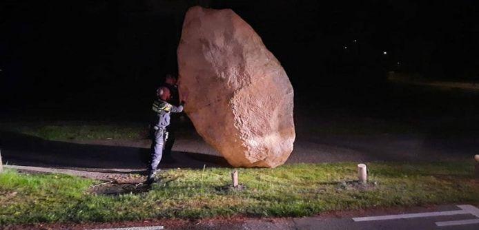 Het rotsblok