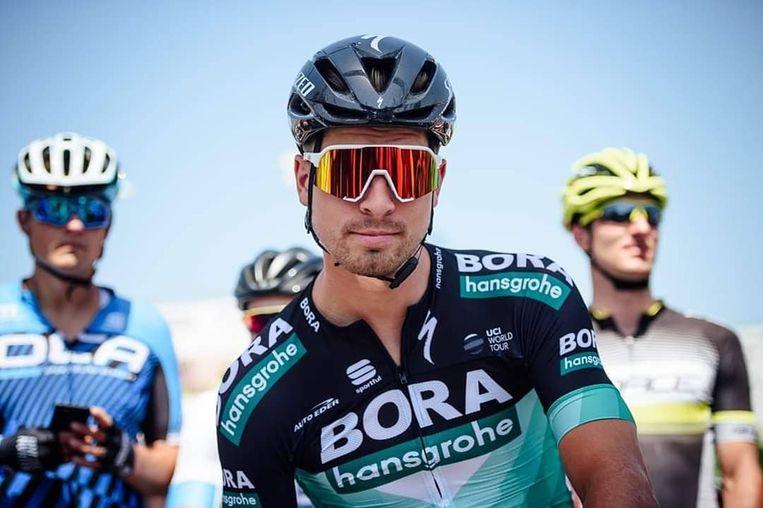 Peter Sagan, klaar voor de Tour.