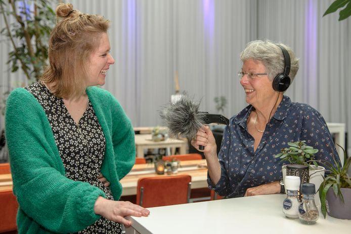 Radio Kras maakt uitzendingen voor en met senioren.
