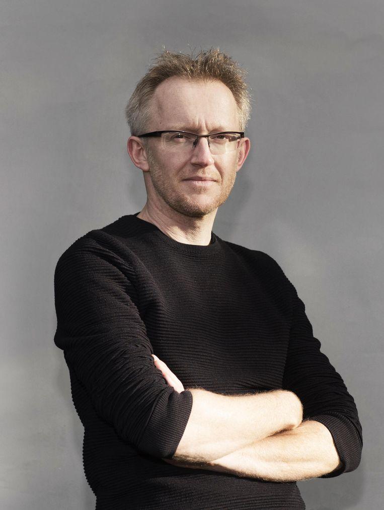 David Van Reybrouck: 'Ik noem vertalers 'de vergeten helden van de globalisering'. Beeld Els Zweerink