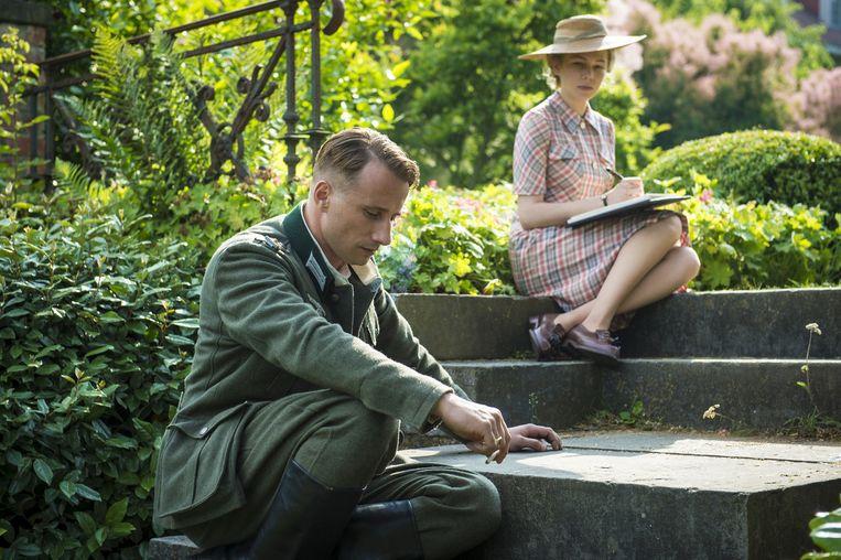 Matthias Schoenaerts en Michelle Williams als verboden geliefden. Beeld rv