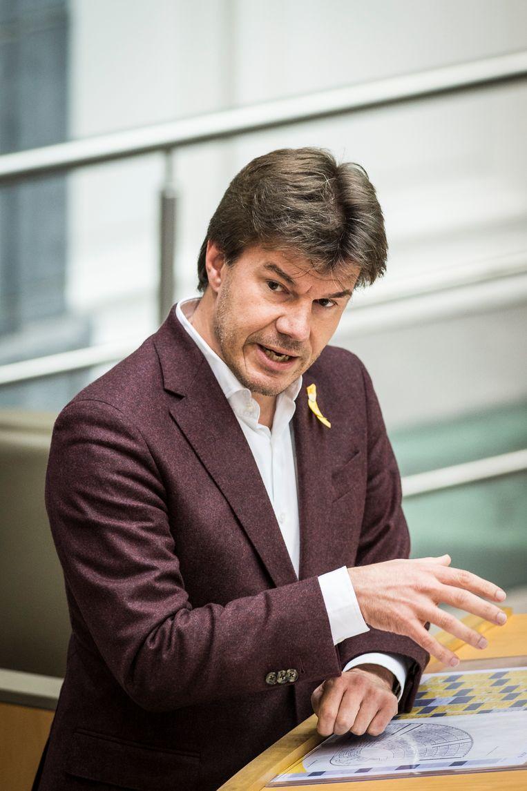 Vlaams Mediaminister Sven Gatz (Open Vld). Beeld BELGA