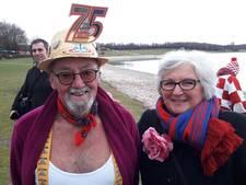 Carnavalsduik in Berkendonk in Helmond was niet zo koud