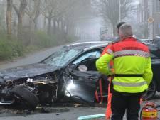 Automobilist zwaargewond bij ongeluk op Juliana van Stolberglaan