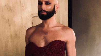 Conchita Wurst verrast fans met kaal hoofd