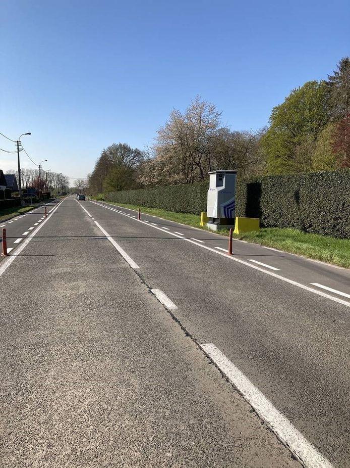 De Lidar stond afgelopen week in de Drongense Steenweg in Lievegem