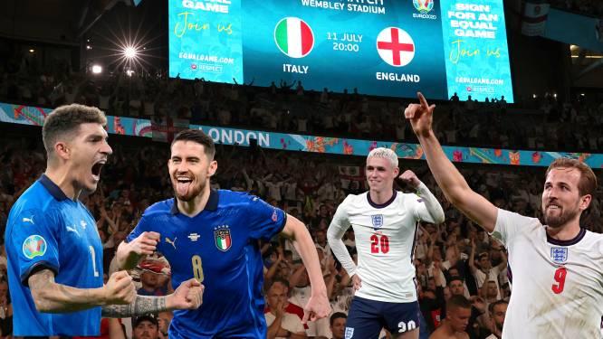 POLL. Italië populairder dan Engeland: 7 spelers van Squadra staan in uw ideale basiself van de EK-finale