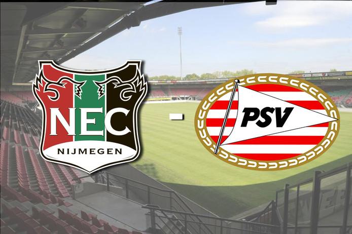 NEC speelt donderdagavond thuis tegen Jong PSV.