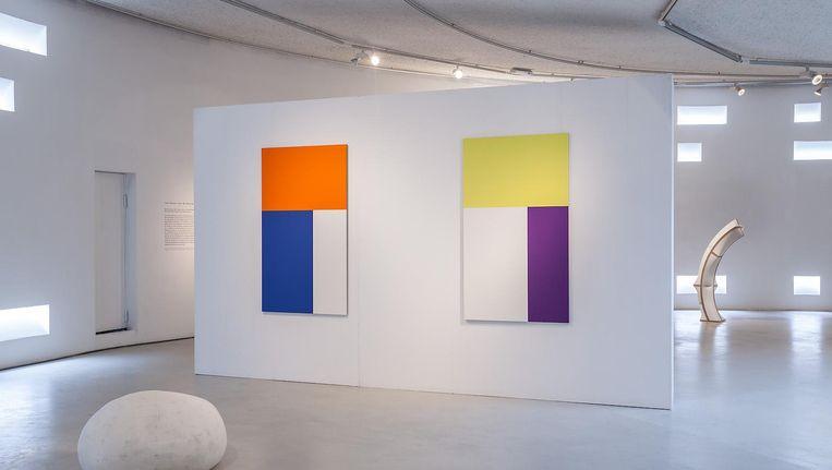 De tentoonstelling Abstractie in de Art Chapel aan de Zuidas in september 2017. Beeld Stichting Art Zuid