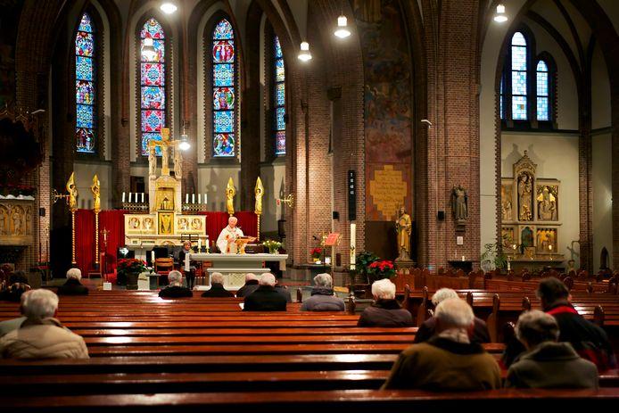 De Antoniuskerk wordt al een tijd niet meer gebruikt voor vieringen, zoals op deze archieffoto.