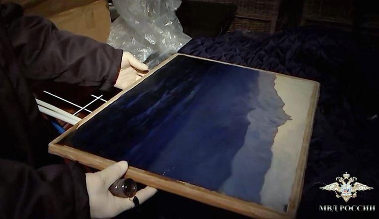 Het gestolen werk van de Russische schilder Archip Koeindzji.