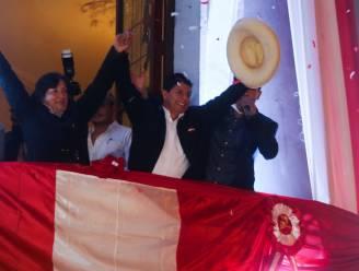 Linkse dorpsonderwijzer uitgeroepen tot winnaar Peruaanse presidentsverkiezingen