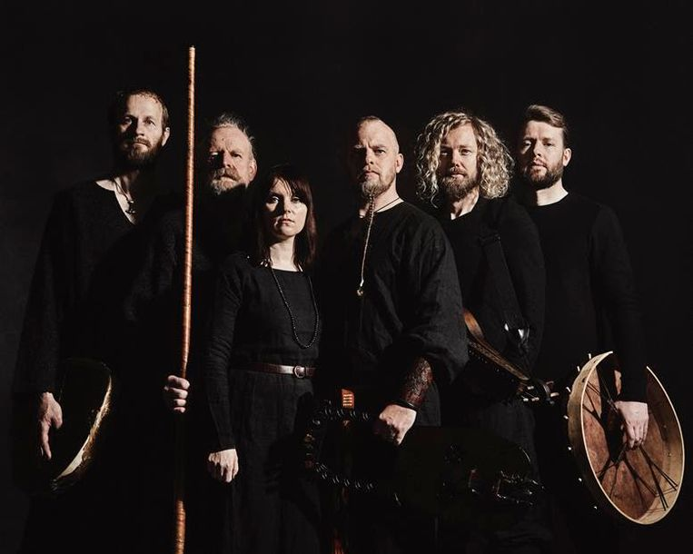 De Noorse folkband Wardruna. Beeld