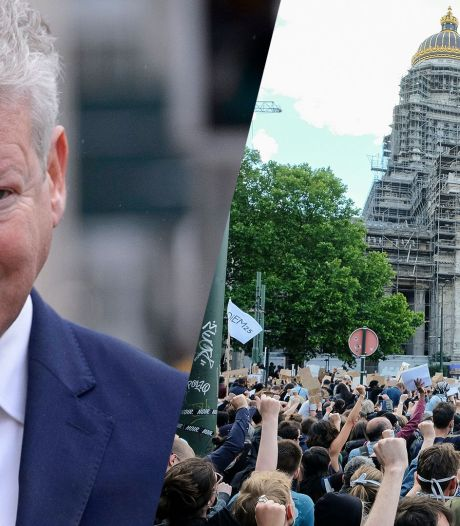 """Manifestation à Bruxelles: Pieter De Crem assure que Rudi Vervoort """"n'a pas donné de signal"""""""