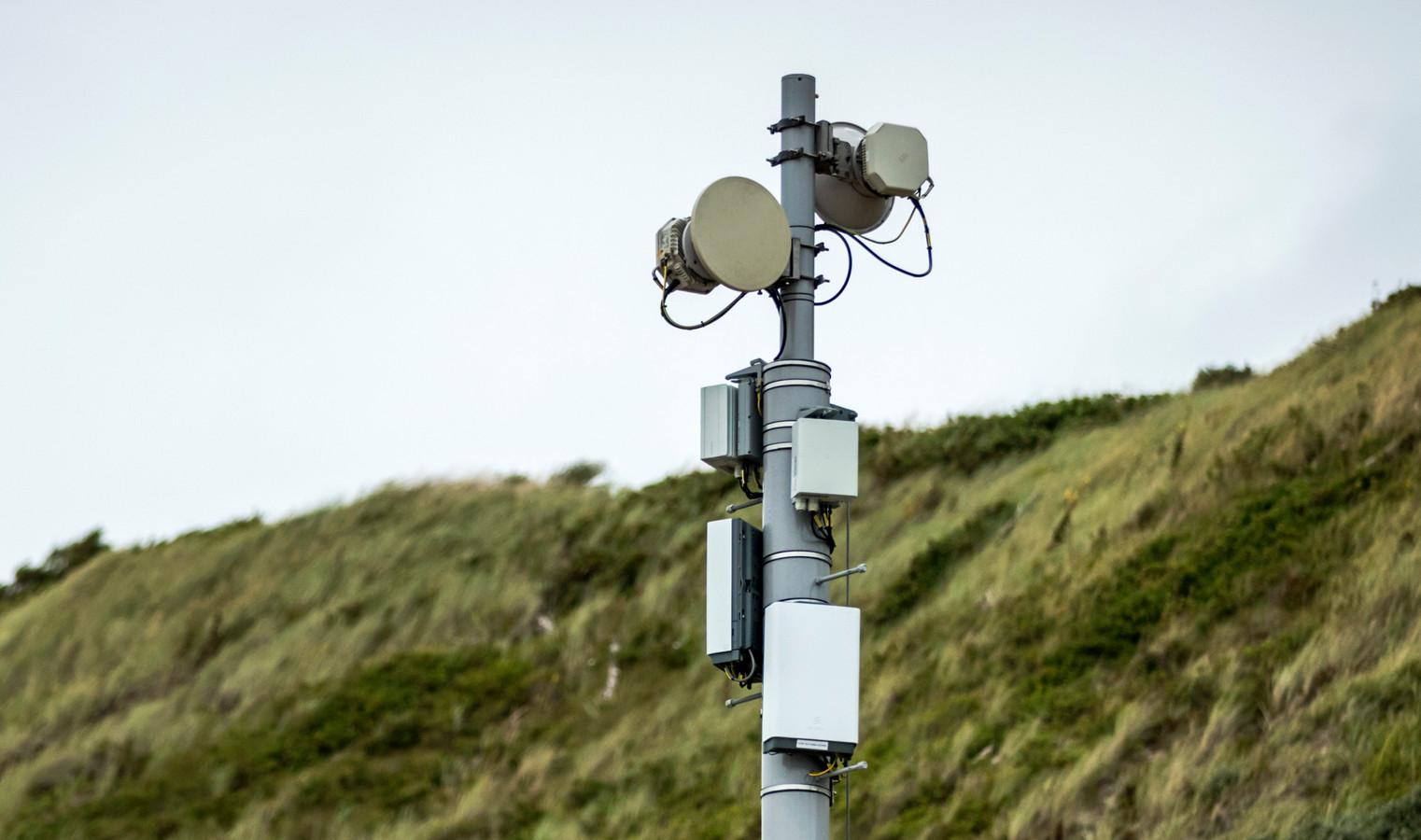 Een 5G-mast