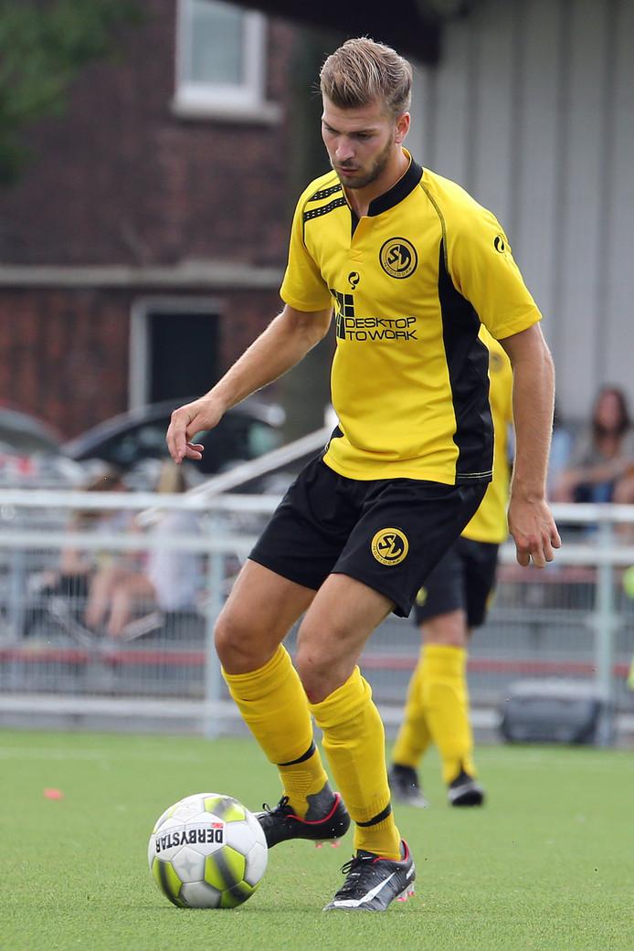 """Maurice Kerkhof kwam tegen DTS Ede niet in actie voor SV Nootdorp. ,,Ik heb de indruk dat mijn vertrek meespeelde in mijn reserverol."""""""