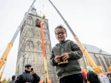 Fede (5) uit Oldenzaal: de grootste kleine fan van de nieuwe Plechelmusklok