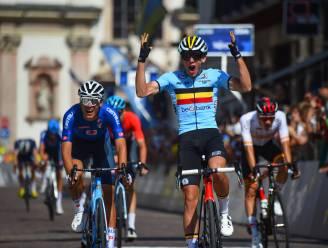 Goud voor België: Thibau Nys sprint naar Europese titel bij beloften!