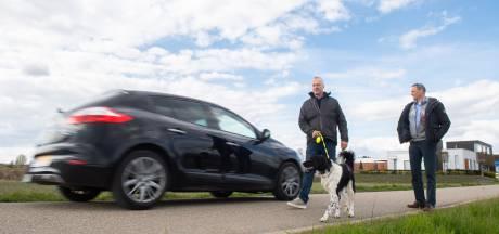 Sluipverkeer maakt rondje wandelen steeds lastiger in Zevenbergen: 'Mensen rijden hier als gekken'