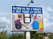 """""""Macron n'a pas d'enfants, il veut piquer les nôtres"""": l'afficheur Michel-Ange Flori crée à nouveau la polémique"""