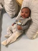 Rae (8 weken) is het zoontje van Naomi Vanbeveren.