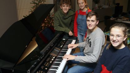 """Familie Hannes zingt eigen nummer voor Warmste Week: """"Voor Thorben, klasgenootje met hersentumor"""""""