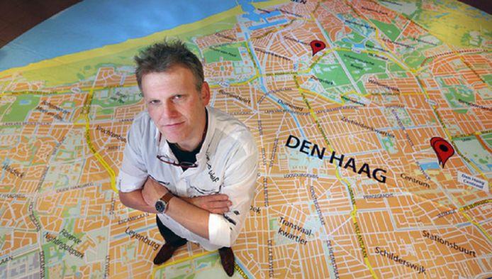 Wethouder Joris Wijsmuller kauwde maandenlang op een toekomstvisie voor Den Haag. Vandaag wordt deze gepresenteerd.