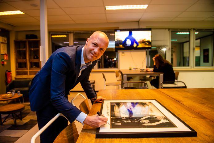 Jordi Cruijff op archiefbeeld