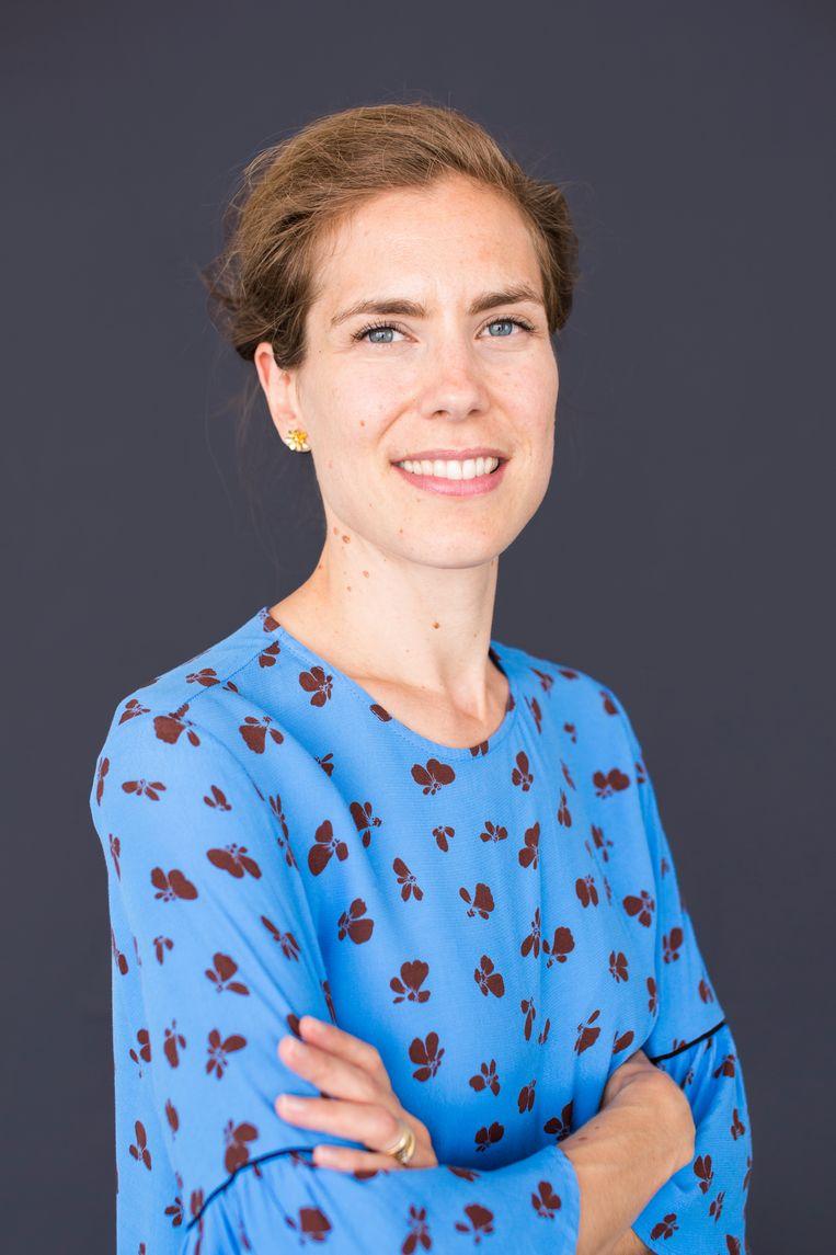 Wethouder Simone Kukenheim: 'Ik realiseer me dat deze investeringen de effecten van de coronacrisis op jongeren niet volledig zullen wegnemen.' Beeld Eva Plevier
